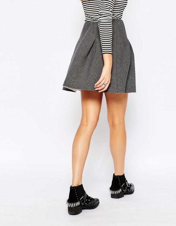 Glamorous Skater Skirt