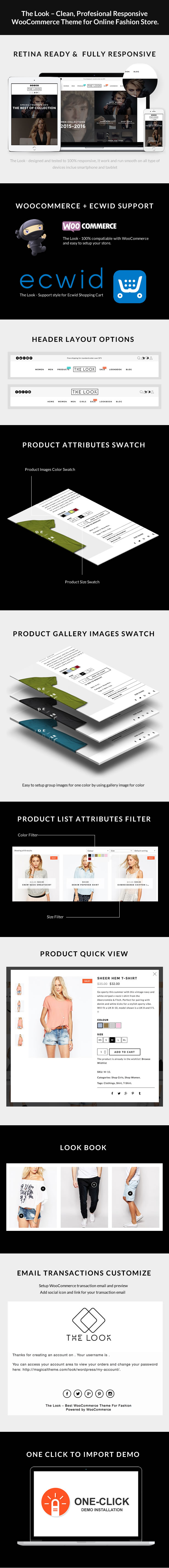 The Look - Clean, Responsive WooCommerce Theme - 1